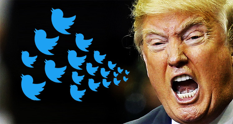Unhinged, Trump Tosses Unprecedented Twitter-Tantrum On Tuesday