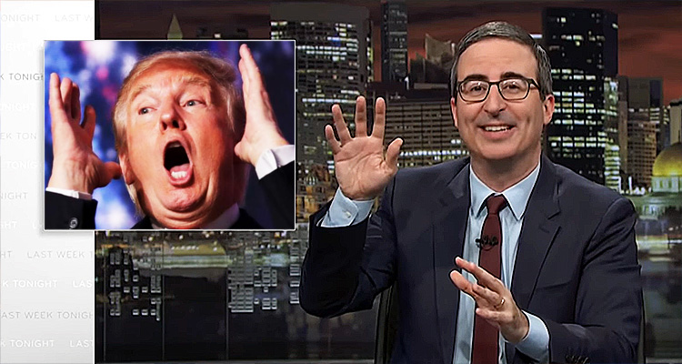 Watch John Oliver Land A Couple Of Well-Placed Knockout Punches On Trump