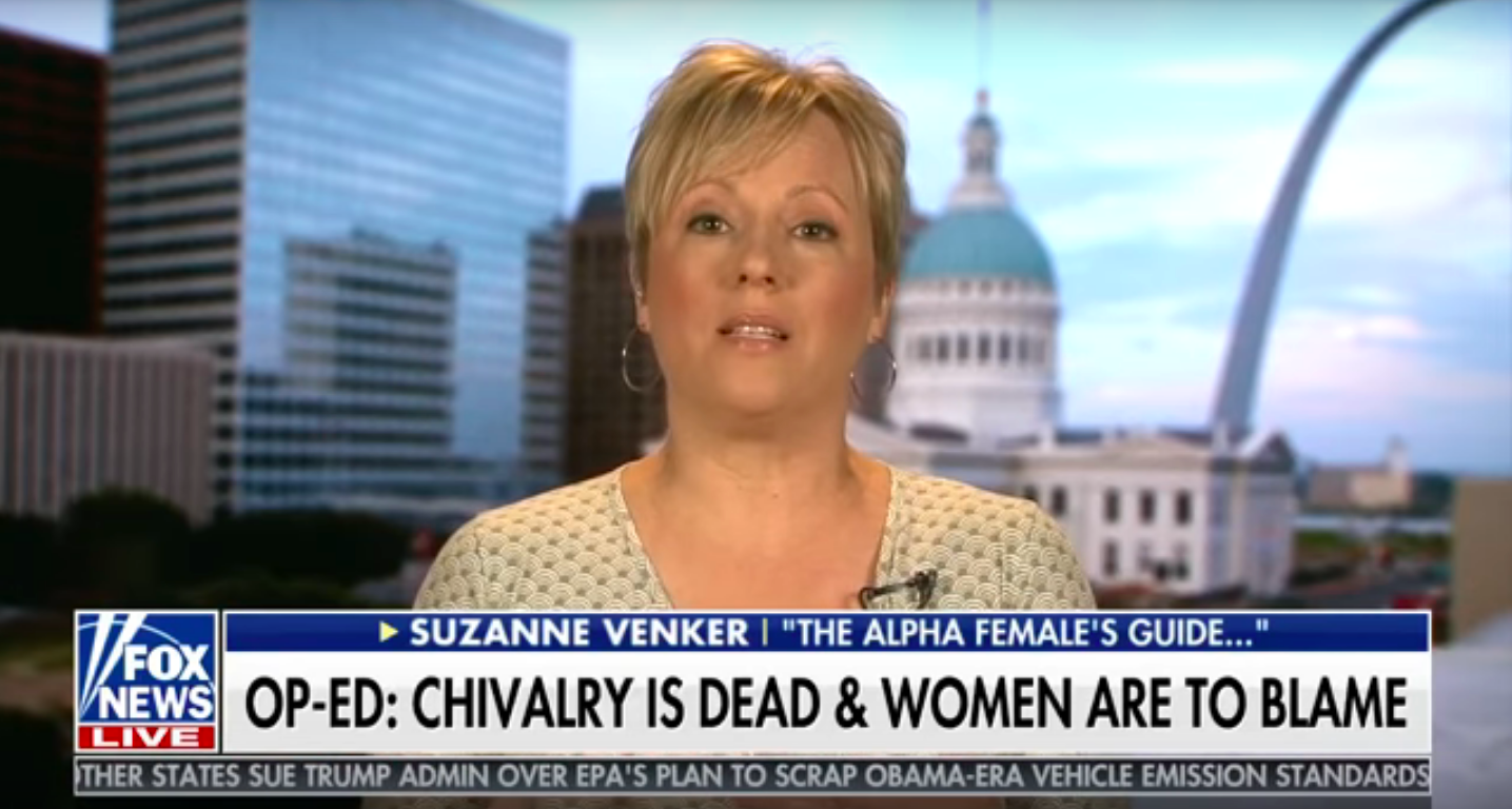 Anti-Feminist Claims Chivalry Is Dead Because Women Killed It