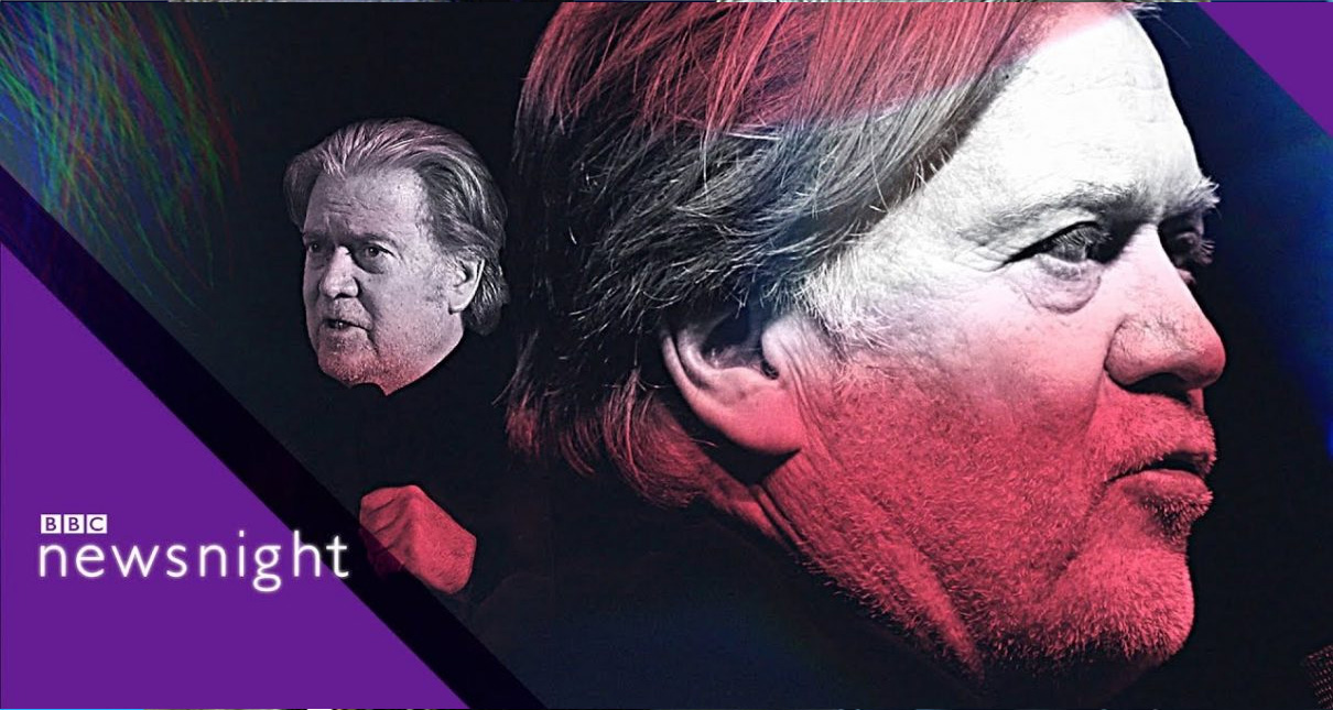 Steve Bannon Loses His Freaking Mind During Interview With BBC News, Spews All Kinds Of Nonsense – Video
