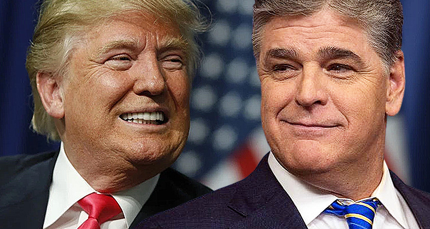 Hannity Tucks Trump In With Late Night Telephone Chats About The Mueller 'Witch hunt'