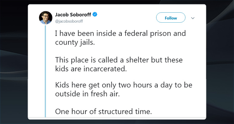 'It was shocking… These Kids Are Incarcerated' – Reporter Reveals Alarming Conditions Of Child Detention Facility