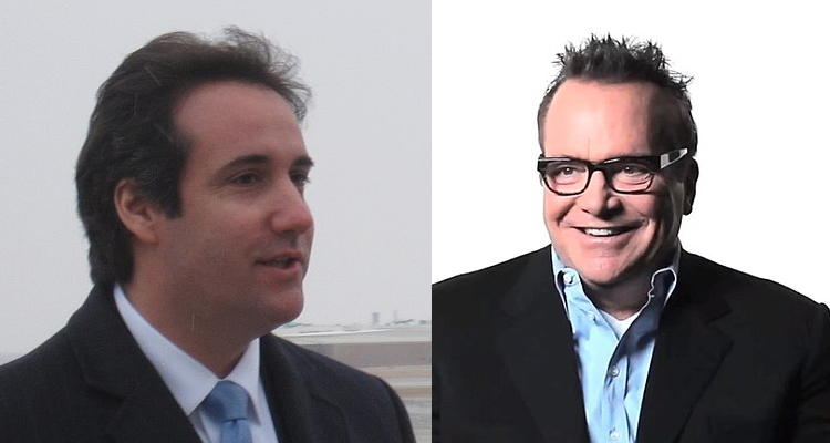 Tom Arnold And Michael Cohen Team Up To Be Trump's Worst Nightmare