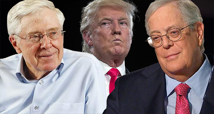 BBC Reports The Koch Brothers Are Funding A Multi-million Dollar Campaign Against Trump