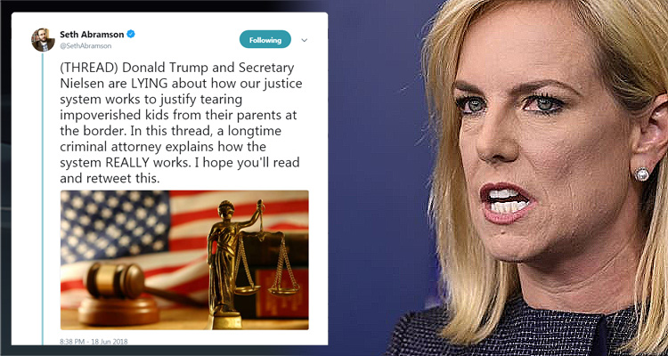 Longtime Criminal Attorney Tears Into Trump And Secretary Nielsen For Lying: 'They are abominations'