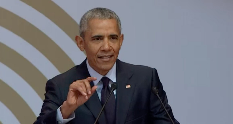 Obama Takes Trump To Task Without Ever Mentioning His Name