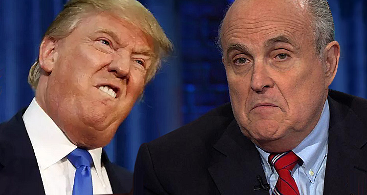 In Full-Panic Mode, Trump Reportedly Lashes Out At Rudy Giuliani – 'It's Your Fault'