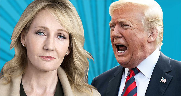 JK Rowling Taunts Trump – Thoroughly Humiliating Him With One Perfect Tweet
