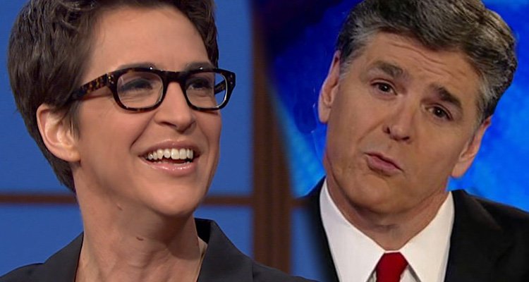 Rachel Maddow Gets To Take A Victory Lap At  Sean Hannity 's Expense This Week