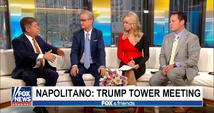 Fox News Legal Analyst Admits Trump Tower Meeting Is A 'Potential Crime Of Conspiracy'