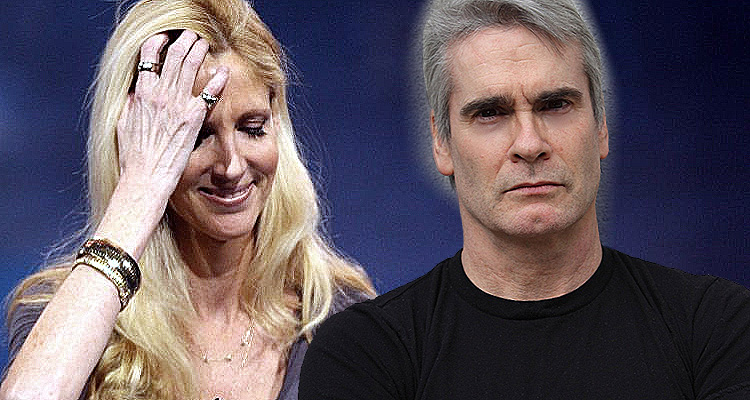 The Time Henry Rollins Told Ann Coulter To Shut The F–K Up!