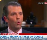 Donald Trump Jr.'s Ludicrous Proof That Social Media Giants Are Silencing Conservatives – Video