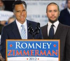 Bill Maher suggests Romney Zimmerman 2012 ticket: video link!