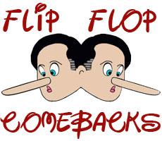 Humorous comebacks for Romney flip flops