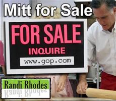 Mitt for Sale – Comedy Bit by Randi Rhodes