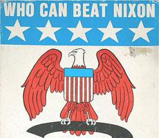 Who Can Beat Nixon Board Game