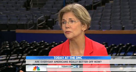 Elizabeth Warren on the state of the economy