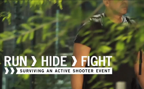 RUN. HIDE. FIGHT. Surviving an Active Shooter Event (VIDEO)