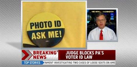 Judge blocks PA's voter ID law