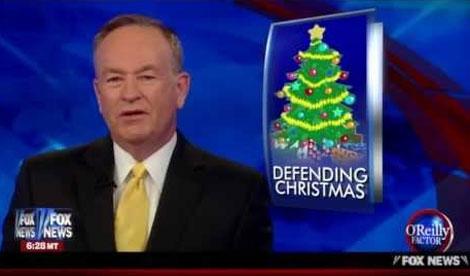 Bill O'Reilly Attacks Rhode Island Governor over 'War on Christmas'