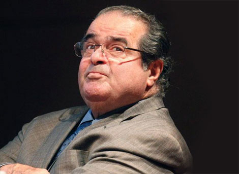 Justice Scalia: homosexuality is similar to bestiality