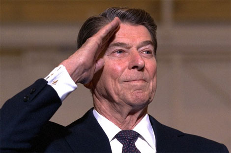 Hero of the GOP Ronald Reagan Agrees with Obama on Taxes