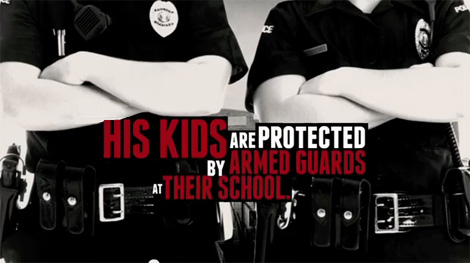 NRA Ad Brings Obama Children Into Gun Debate: The White House Fires Back