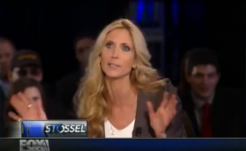 Ann Coulter Gets Booed For Calling A Room Full Of Libertarian Students 'Pussies'  (VIDEO)