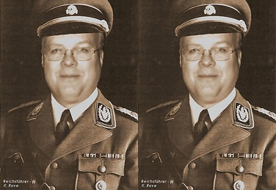 Tea Party Patriots Send Out Email With Karl Rove In Nazi Uniform