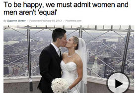 Anti Feminist Inadvertently Uses Picture Of Lesbian Brides To Promote Her Agenda