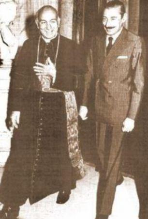 Jorge Bergoglio and General Jorge Videla