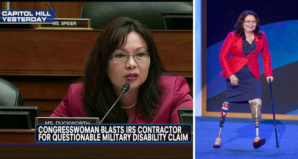 Tammy Duckworth Eviscerates Contractor Who Claimed Veterans Disability – VIDEO