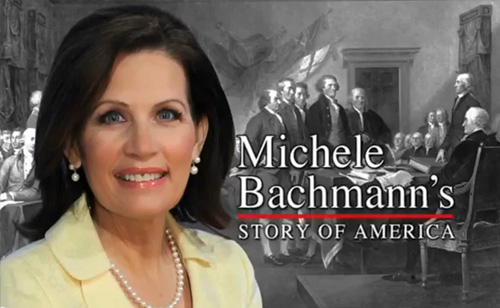 Michele Bachmann's Story of America (VIDEO)