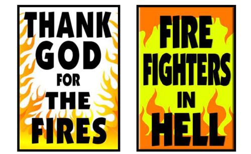 Westboro Baptist Hate Group Praises Arizona Fire – to Picket Firemen's Funerals