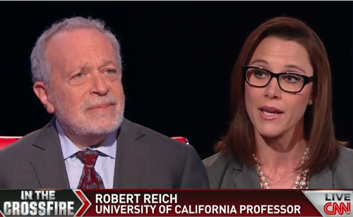 Watch Robert Reich School A CNN Host On Minimum Wage