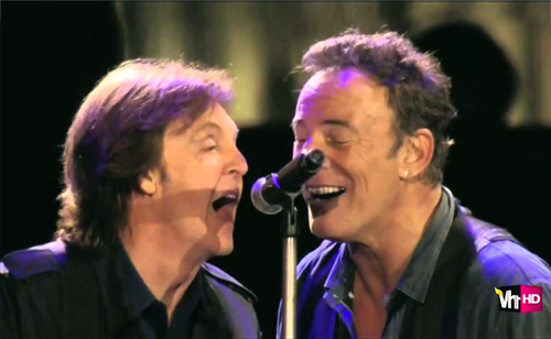 The Time Springsteen And McCartney Had Their Mikes Turned Off (VIDEO)