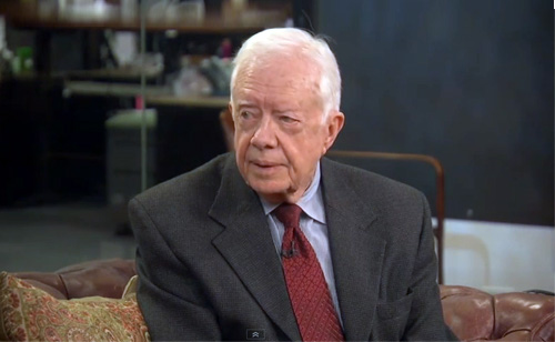 Jimmy Carter: 'The Most Horrible' Human Rights Abuses are Against Women and Girls