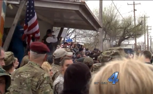 Westboro Baptist Church Run Out Of Moore, Oklahoma (VIDEO)