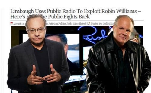 Lewis Black Says 'F*ck You Rush Limbaugh… (Robin Williams) Was My Friend'
