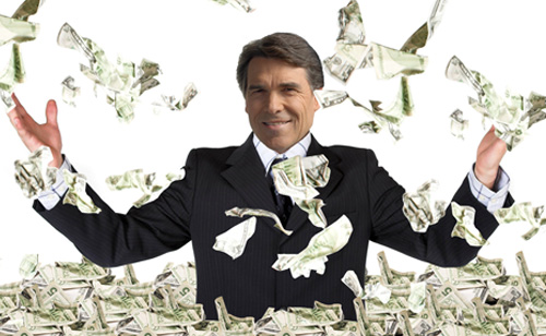 BEND OVER TEXAS, Taxpayers Cover Rick Perry's Initial Legal Fees