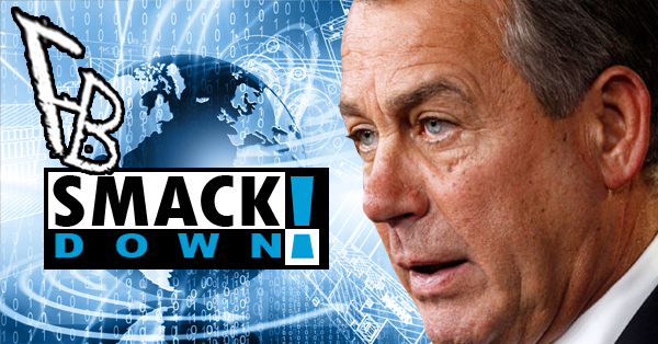 John Boehner Gets Smacked Down By Conservatives AND Liberals!