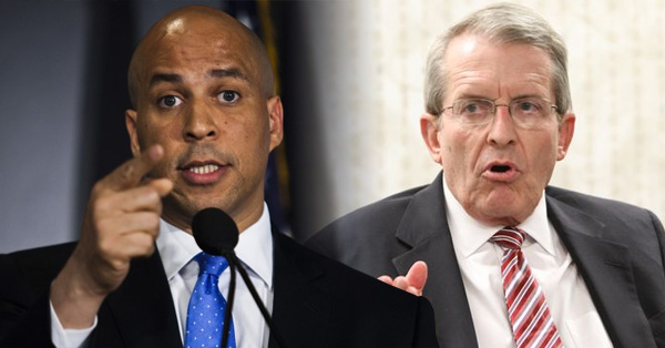 Cory Booker Blasts Opponent For 'Delusional Ranting' And 'Misogynistic, Despicable Comments'