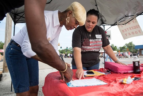 Ferguson Sees Surge In Voter Registration After Mike Brown Shooting