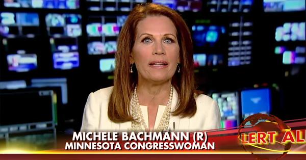 A Desperate Michele Bachmann Makes A Futile Plea To Fox Viewers (VIDEO)