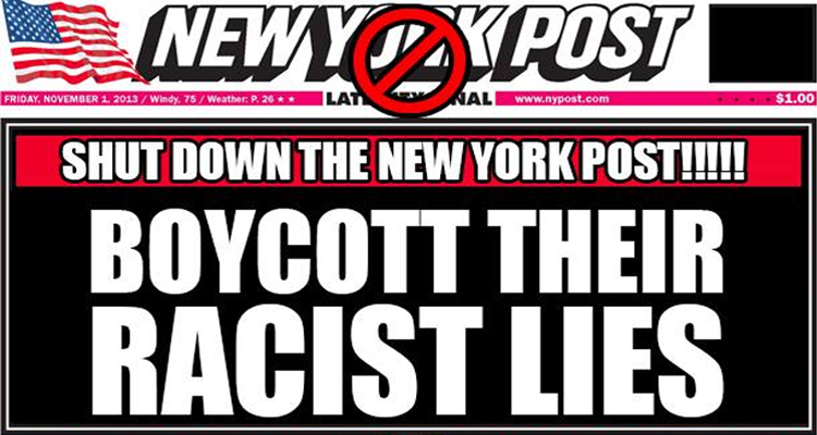 Fox News And The New York Post Targeted By 'Die-In, Shutdown and Boycott' Campaign