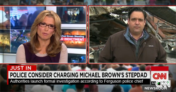 Cops Consider Charging Michael Brown's Stepfather – VIDEO