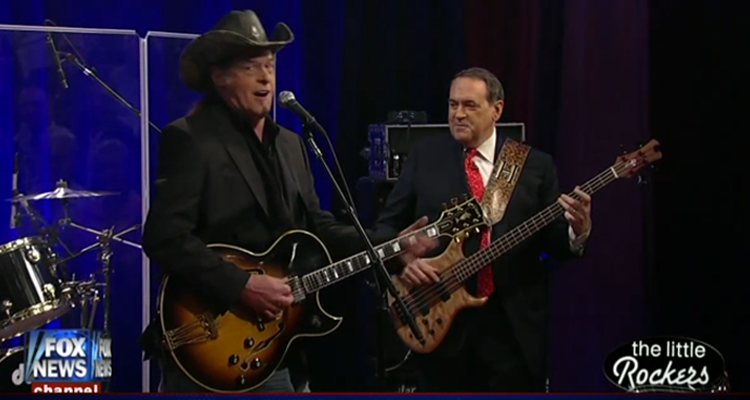 Huckabee Performed Explicit Song w/Ted Nugent And Lied About It – VIDEO