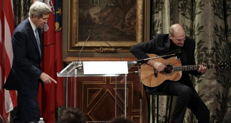 BBC Mocks John Kerry After James Taylor Sings 'You've Got A Friend' To French – VIDEO