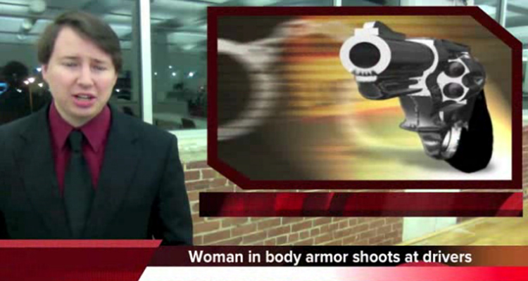 White Woman In Body Armor Shoots At Police And Lives To Tell About It – VIDEO