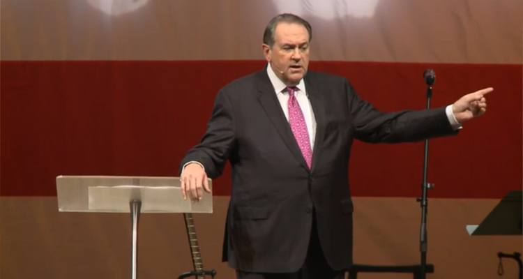 Mike Huckabee Compares 'Gay Marriage Lies' To 'Nazi Germany Lies' – VIDEO